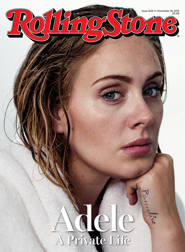 Adele, Rolling Stone, Cover, November