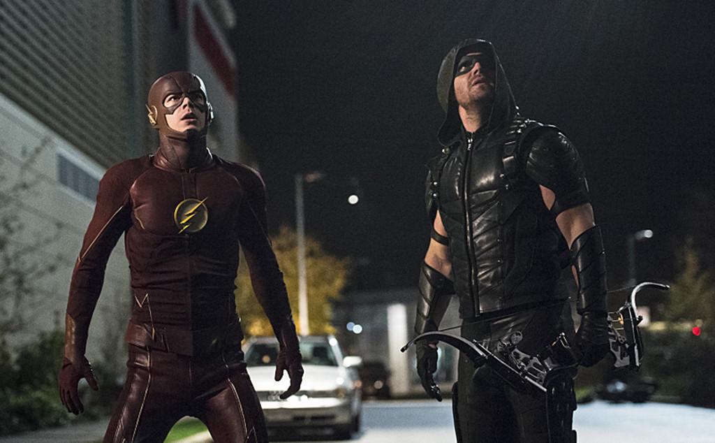 The Flash, Arrow, Crossover