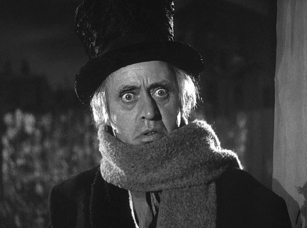 5. Alastair Sim as Ebenezer Scrooge in Scrooge (1951) from Ranking Meanest Christmas Movie ...