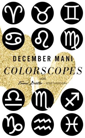 ESC, December Nail Mani-Scopes