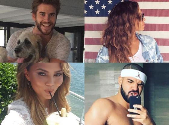 Celebrity Instagrams, Best Of, Liam Hemsworth, Chrissy Teigen, Beyonce, Drake