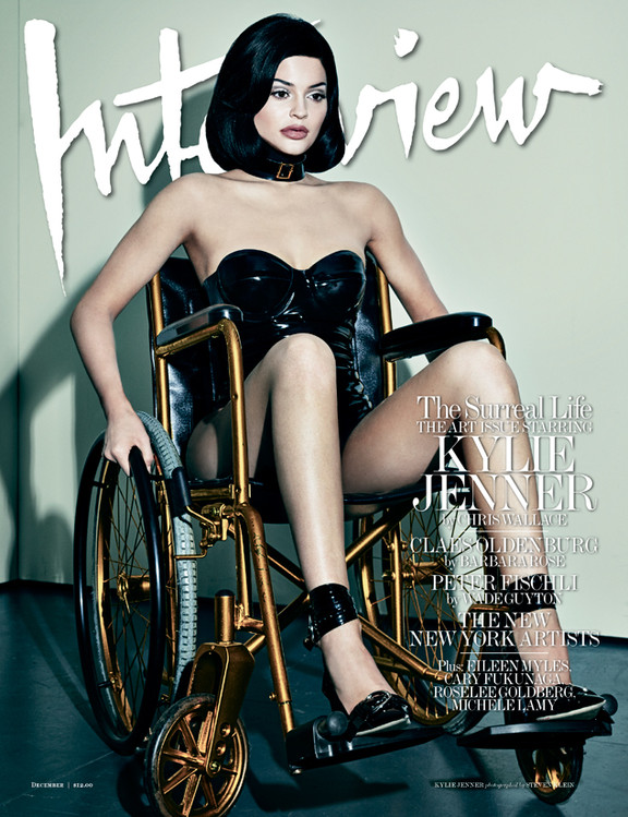 Kylie Jenner, Interview Magazine