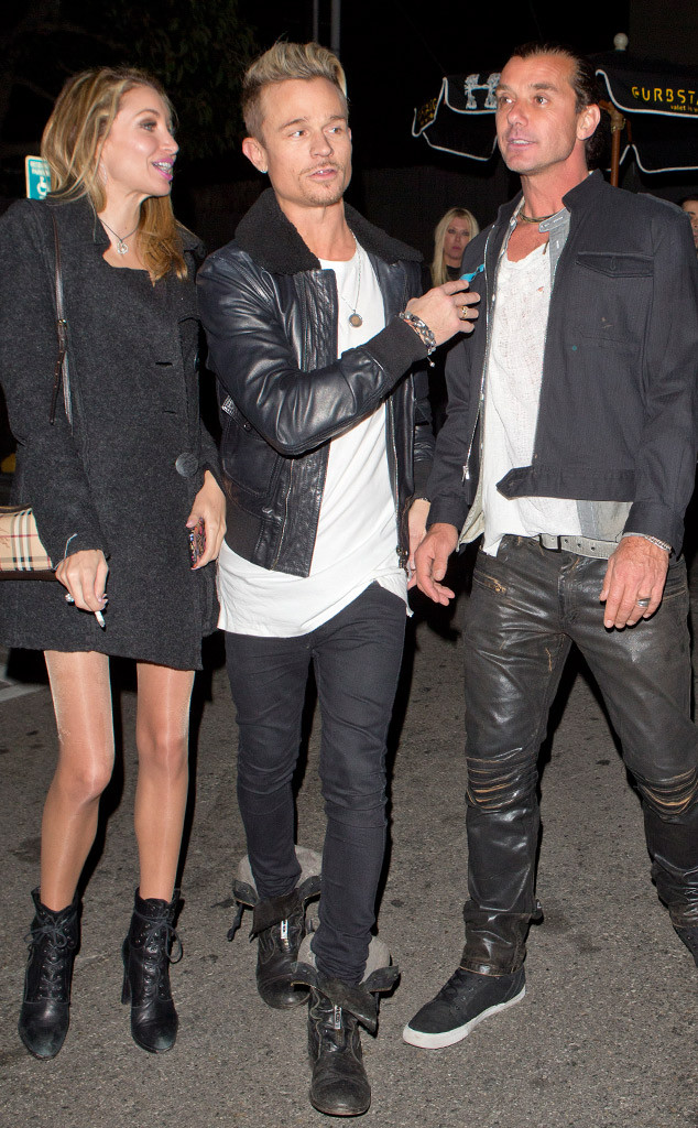 Gavin Rossdale Parties With Tara Reid and a Mystery Blonde
