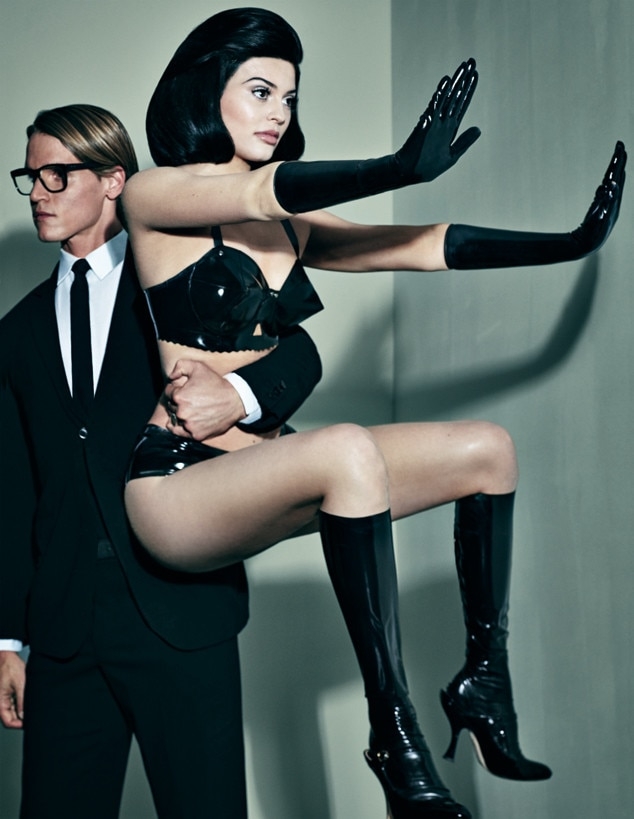 Interview Magazine from Kylie Jenner's Modeling Pics