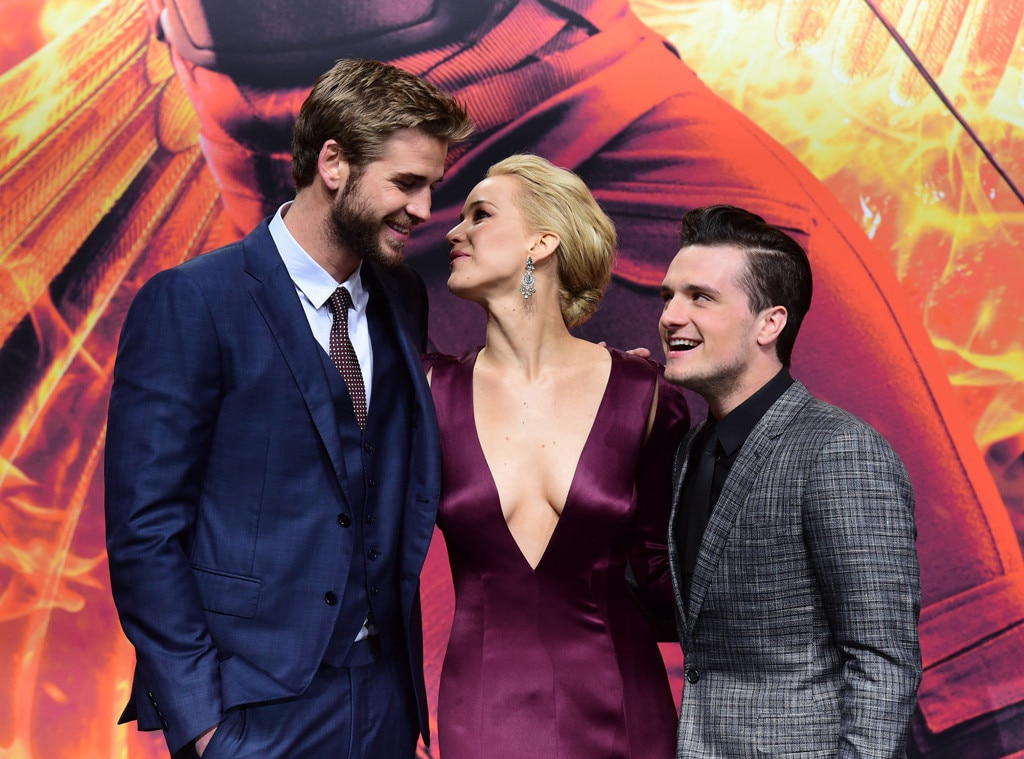 Is jennifer lawrence dating josh hutcherson hunger