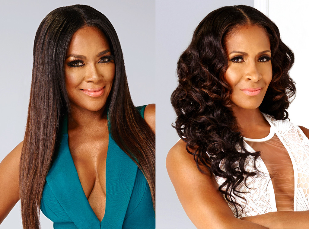 Sheree Whitfield, Kenya Moore