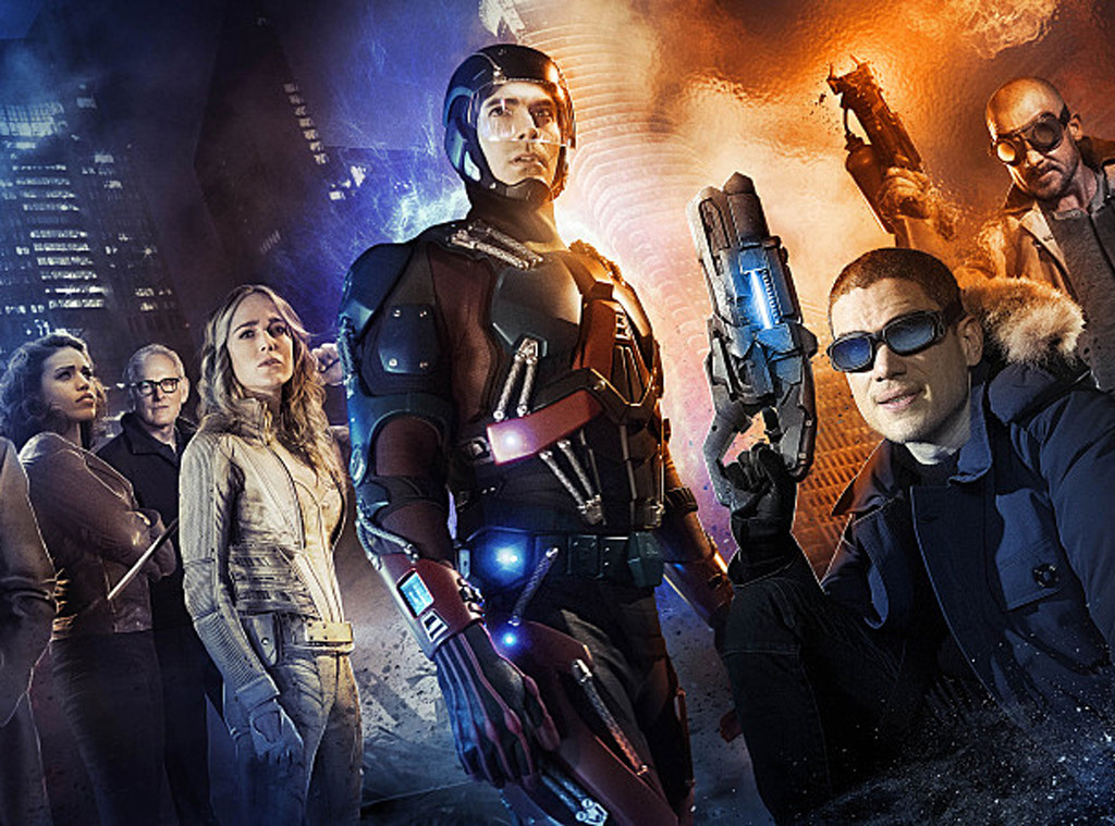 Victor Garber, Caity Lotz, Brandon Routh, Legends of Tomorrow