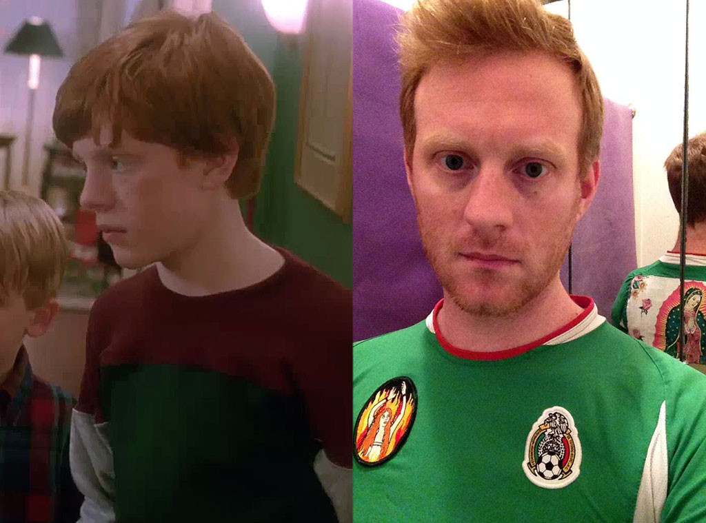 home alone, Then and Now, Michael Maronna