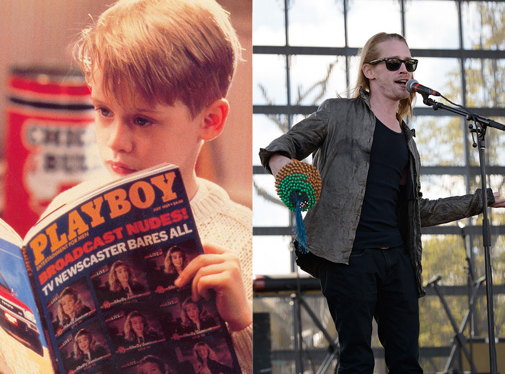 home alone, Then and Now, Macaulay Culkin
