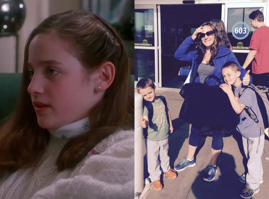 home alone, Then and Now, Hillary Wolf