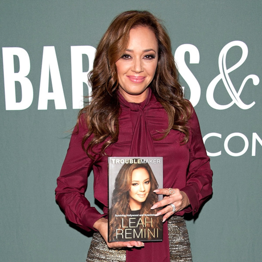 King of Queens actress Leah Remini thanks fans after