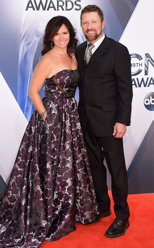 Craig Morgan, Karen Morga, 2015 CMA Awards