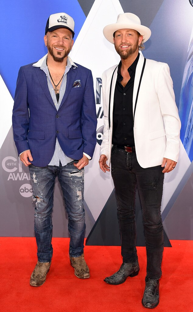 Preston Brust, Chris Lucas, 2015 CMA Awards
