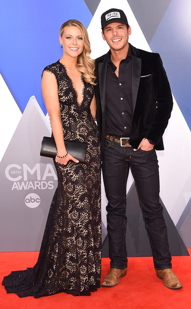 Granger Smith, Amber Smith, 2015 CMA Awards