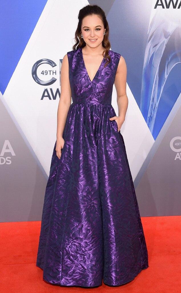 Hayley Orrantia, 2015 CMA Awards