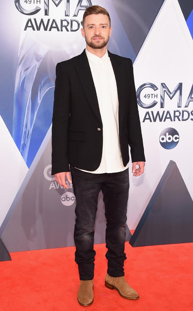 Justin Timberlake, 2015 CMA Awards
