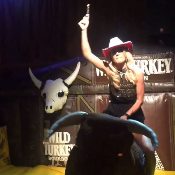 Carrie Underwood, Mechanical Bull, After 2015 CMA Awards