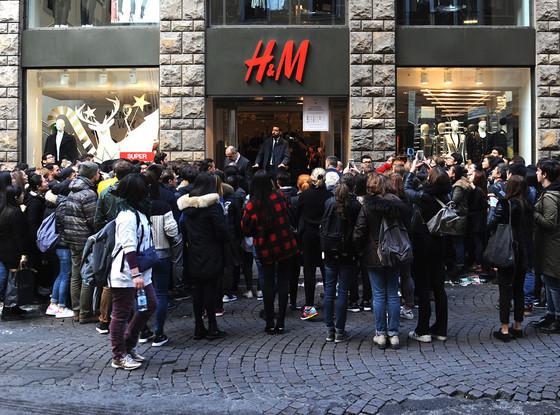 H&M, Balmain