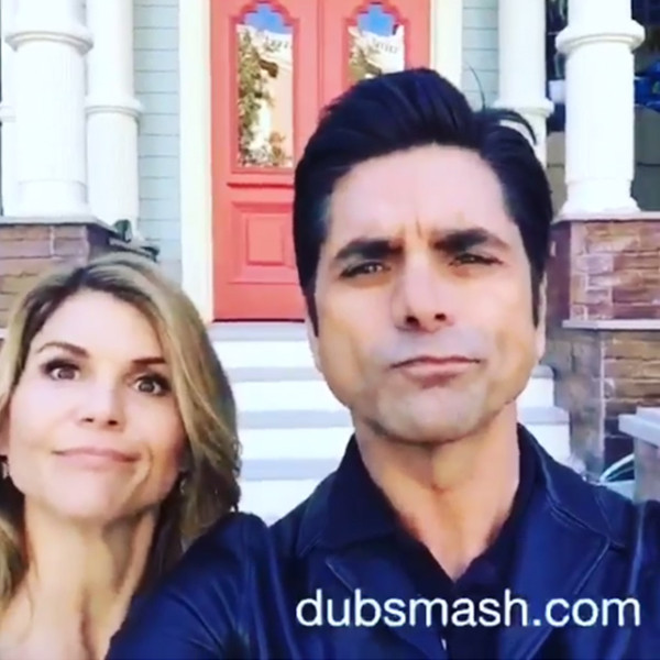 John Stamos Lori Loughlin Recreate That Step Brothers Scene In