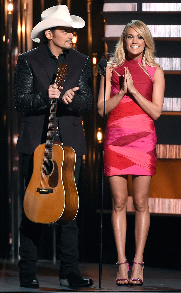 Carrie Underwood, Fashion, CMAs, Pink Cut-Out