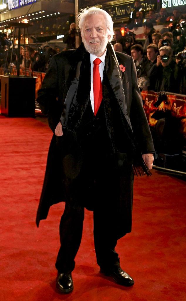Donald Sutherland, Hunger Games