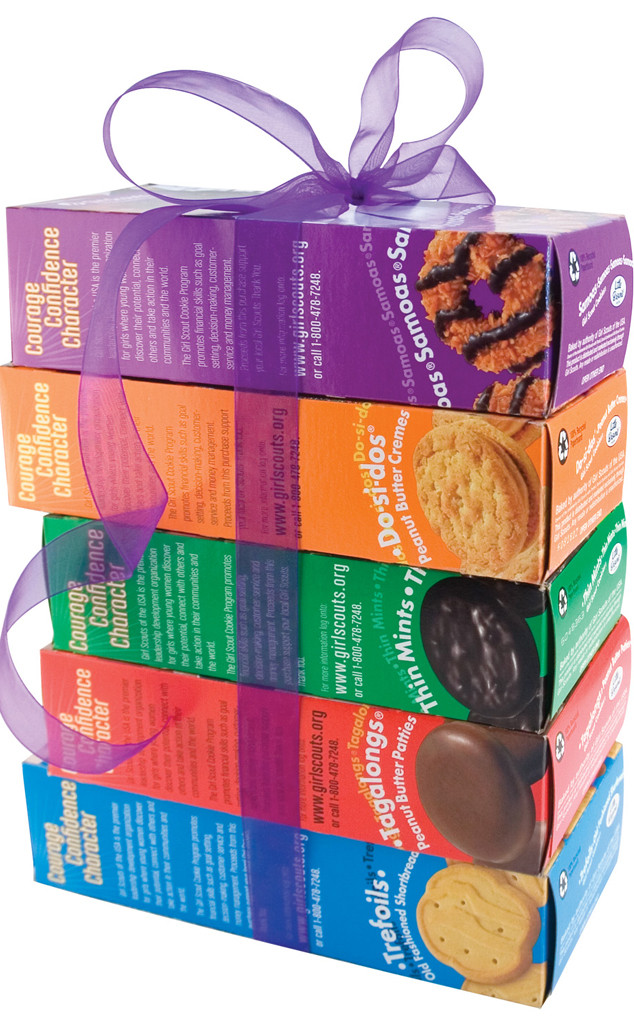 Girl Scout Cookie Season Has Arrived: Here's What Your Favorite Flavor Says  About You - E! Online