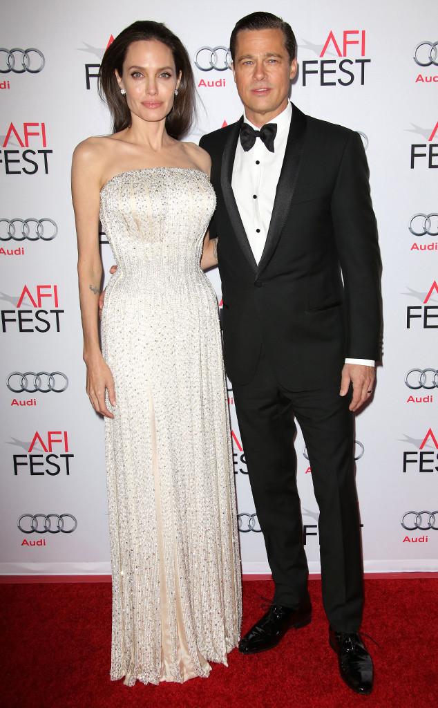 Brad Pitt, Angelina Jolie, Valetine's Day