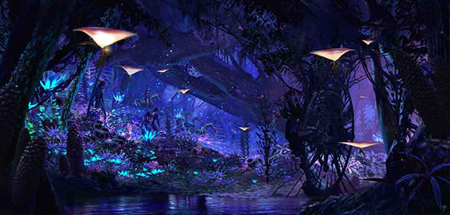 Pandora - the World of Avatar Land Concept Art, Walt Disney World