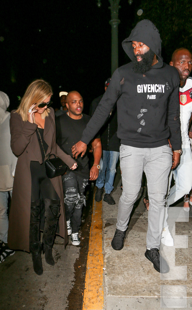 51e2609cc240 Khloe Kardashian and James Harden Photographed Together for the ...