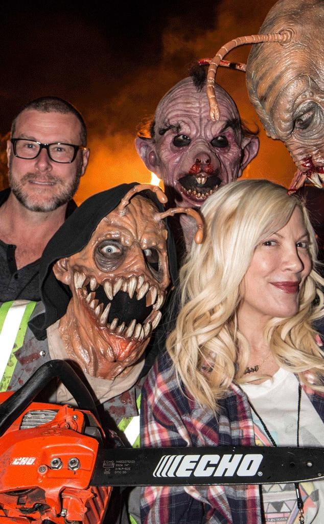 Tori Spelling, Dean McDermott, Halloween 2015