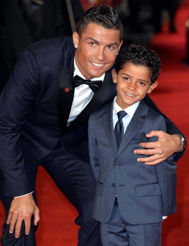Cristiano Ronaldo & Cristiano Ronaldo Jr.