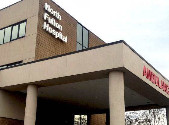 North Fulton Hospital, Bobbi Kristina Brown