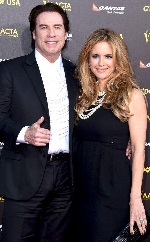 John Travolta, Kelly Preston, AACTA International Awards