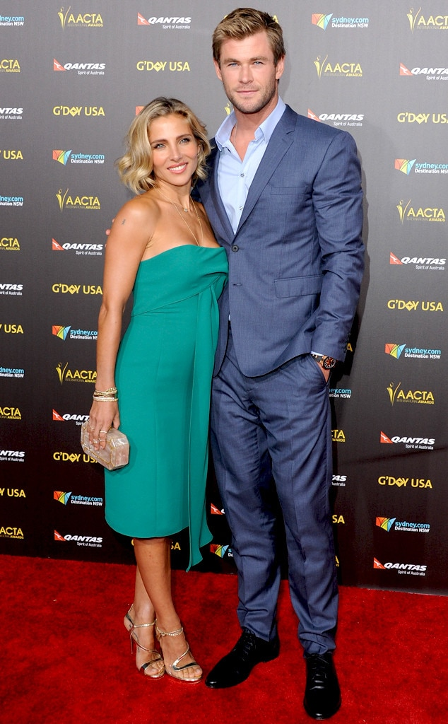 Elsa Pataky, Chris Hemsworth, AACTA International Awards