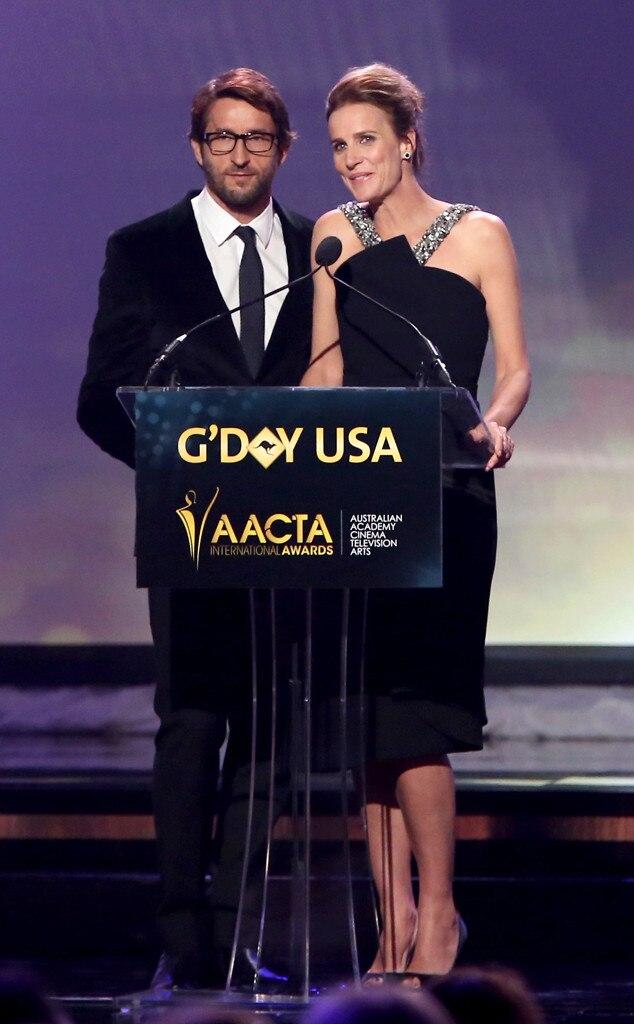 Jonathan LaPaglia, Rachel Griffiths, AACTA International Awards