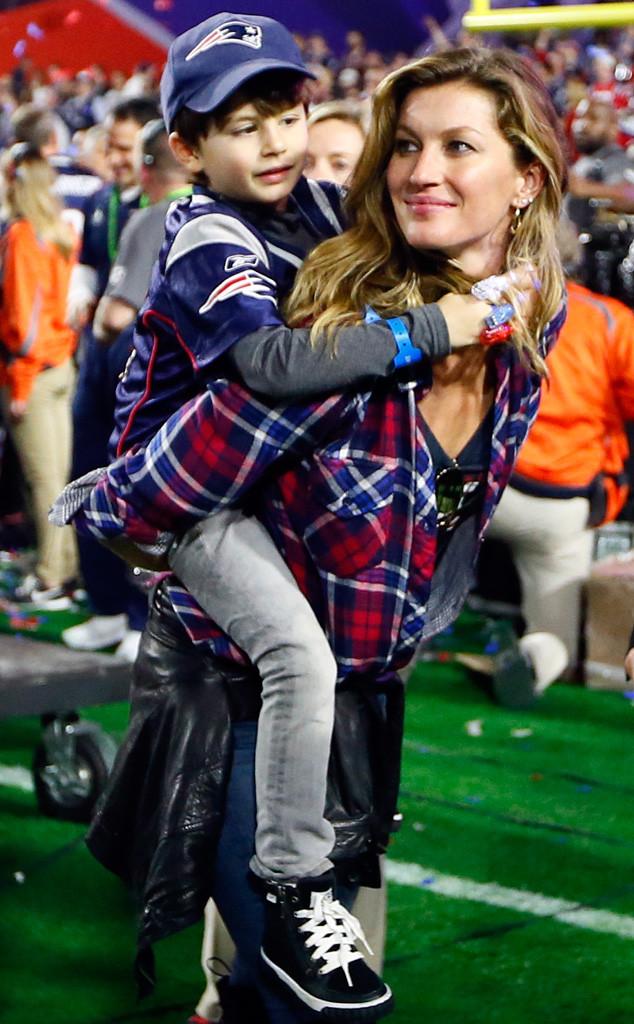 Gisele Bundchen, Benjamin, Super Bowl XLIX