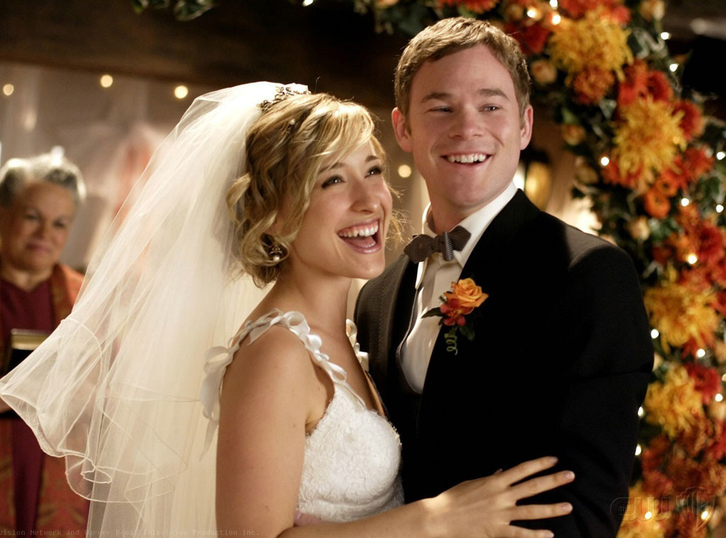 Allison Mack, Aaron Ashmore, Smallville, Old Couples