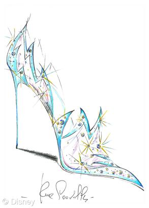 Sapato de cristal Cinderela