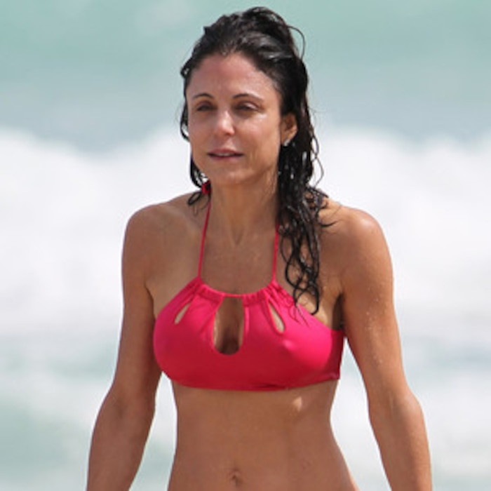 7f11b877872 Bethenny Frankel Shows Off Skinny Body and Lots of Cleavage in Two Sexy  Bikinis | E! News