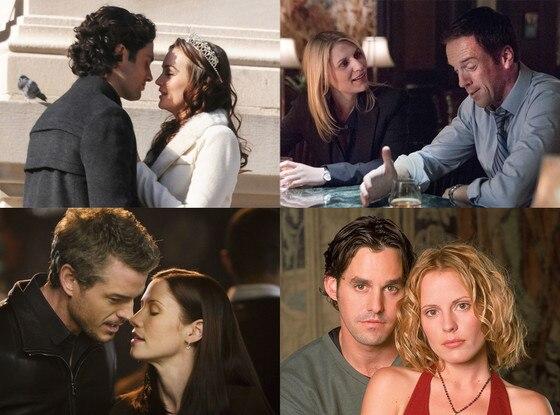 Old Couples, Gossip Girl, Homeland, Buffy, Grey's Anatomy