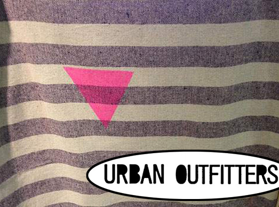 Urban Outfitters holocaust fabric