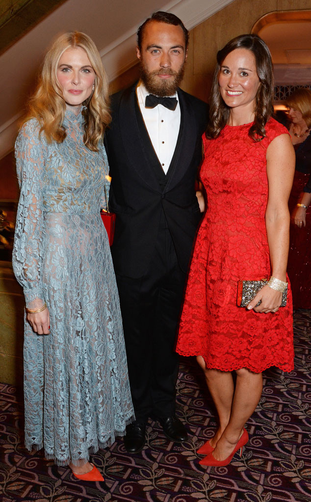 Donna Air, James Middleton, Pippa Middleton