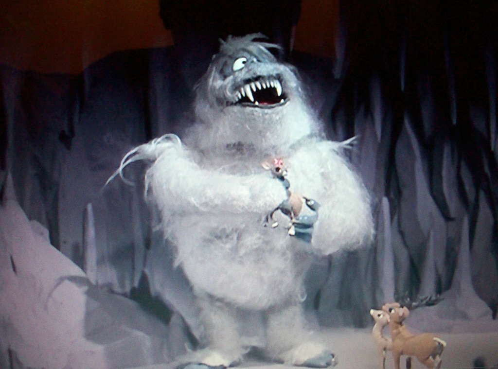 If the Abominable Snow Monster both sinks and bounces ... |Rudolph The Red Nosed Reindeer Abominable Snow Monster