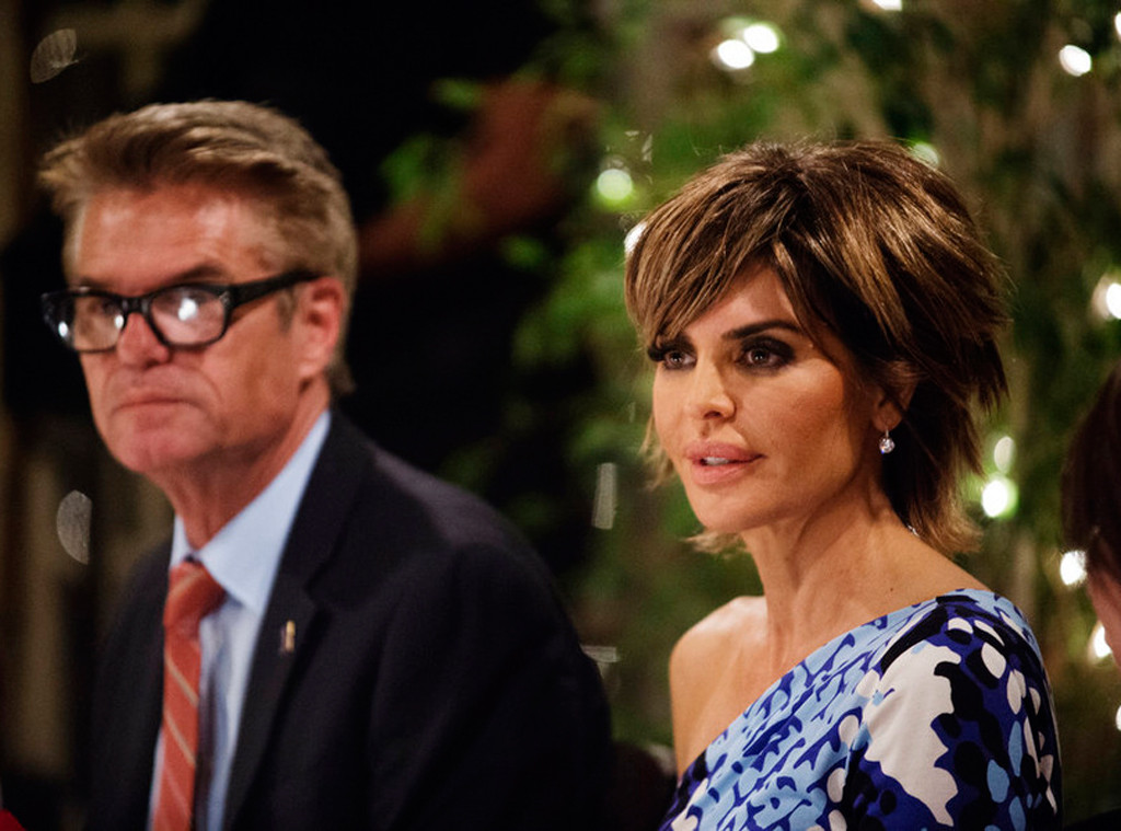 Harry Hamlin, Lisa Rinna, Real Housewives of Beverly Hills