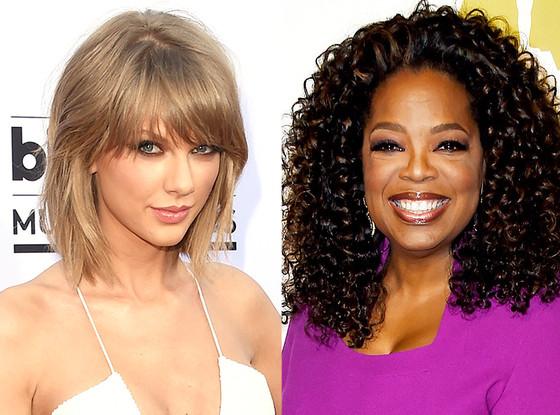 Oprah Winfrey, Taylor Swift