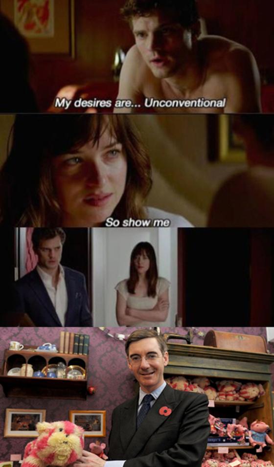 Os Melhores Memes De 50 Tons De Cinza E News