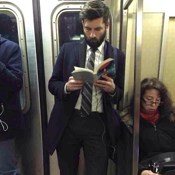 Hot Dudes Reading, Instagram