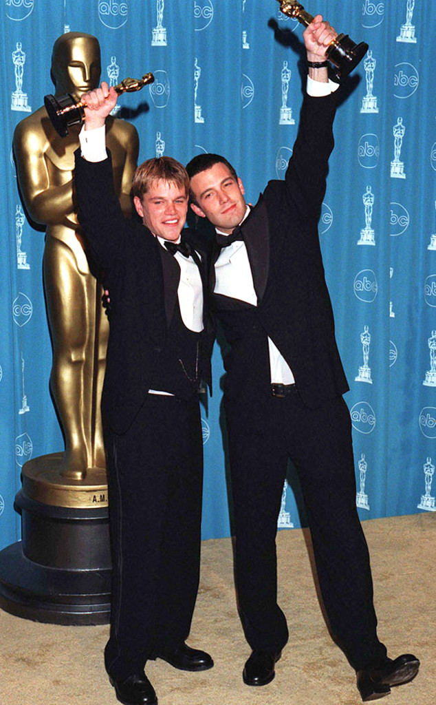 Ben Affleck, Matt Damon, First Academy Awards