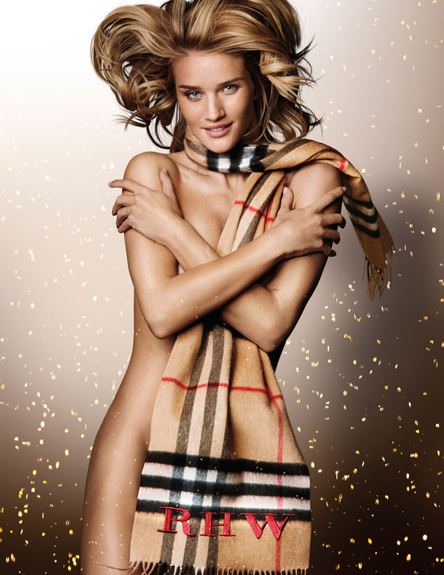 Rosie Huntington-Whiteley, Burberry