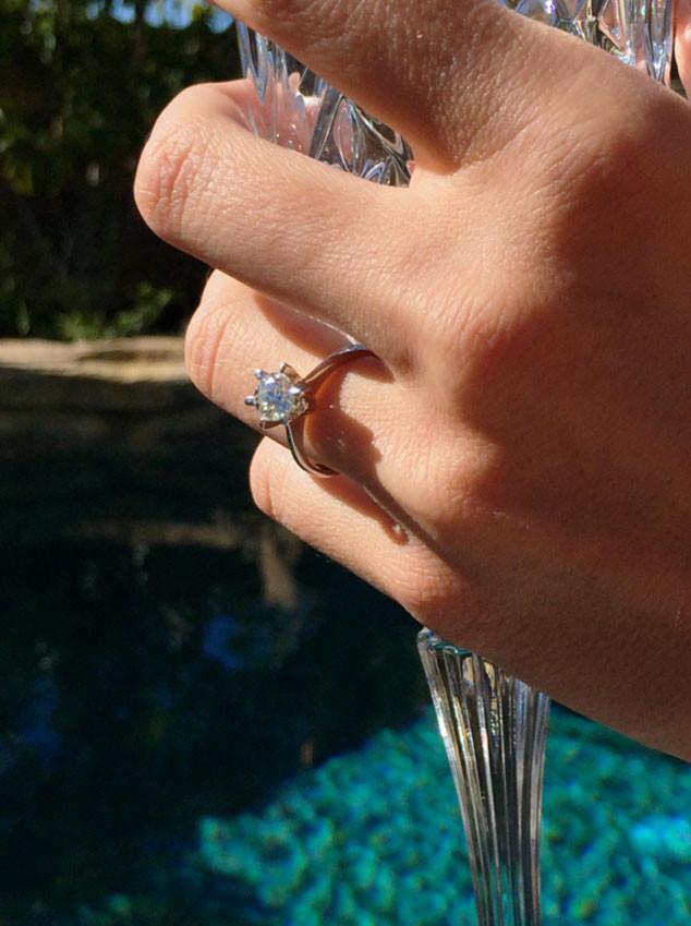 Audrina Patridge, Engagement Ring
